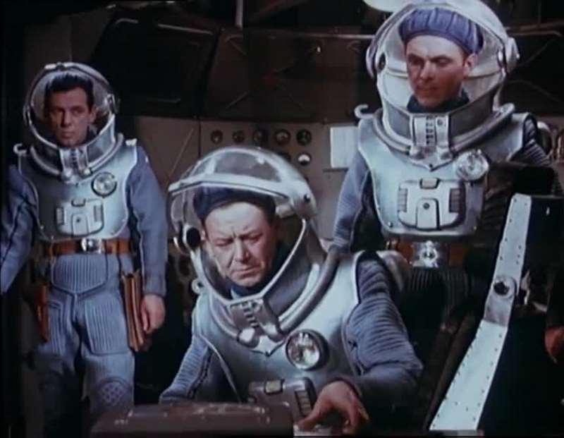 """Фильм """"Планета бурь"""", режиссер Павел Клушанцев, 1962"""
