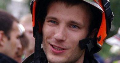 Петр Станкевич, сотрудник аварийно-спасательного отряда