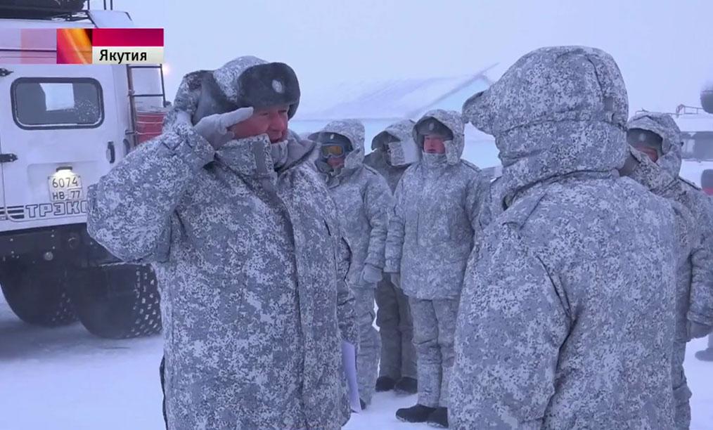 Старт экспедиции по испытанию новейшей военной техники