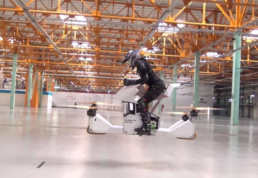 Испытания российского ховербайка Scorpion 3