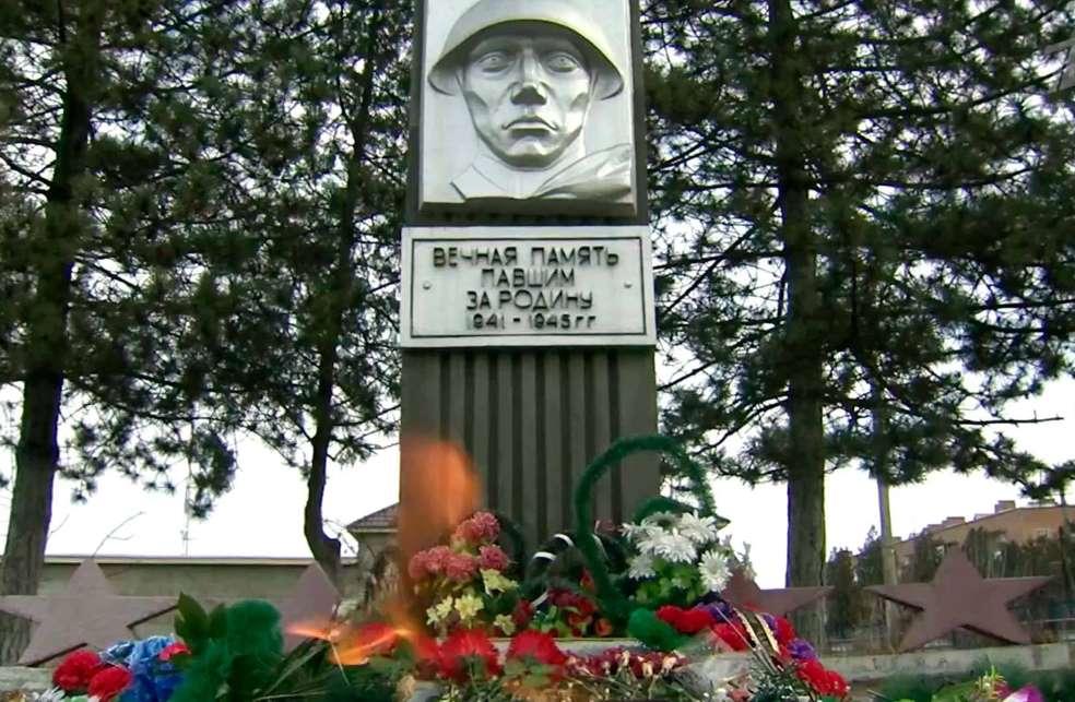 Могила неизвестного солдата, станица Павлодольская, Северная Осетия - Алания