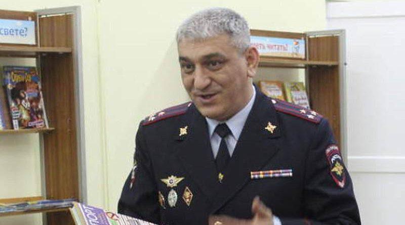 Полковник полиции Айдын Камбаров