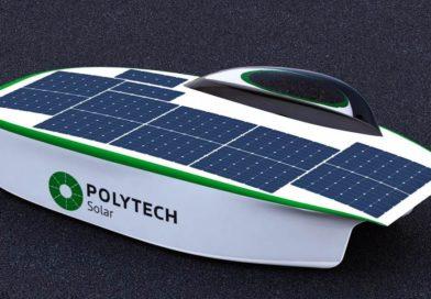 SOL - солнцемобиль от Polytech Solar Team, Санкт-Петербург