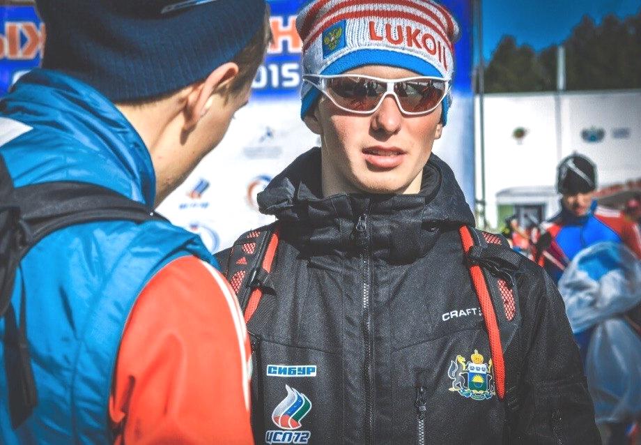 Денис Спицов, российский лыжник