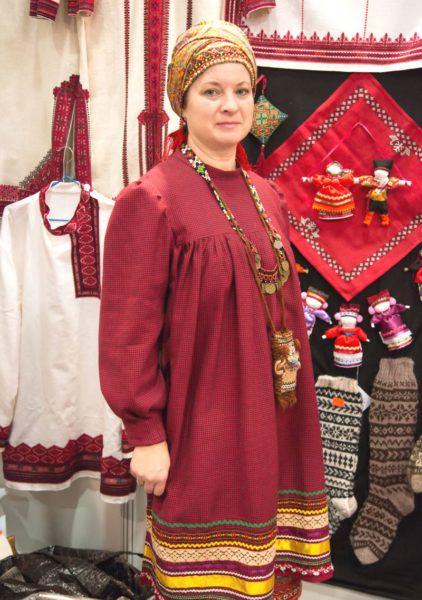Светлана Филипповна Сараева, мастер мордовской национальной вышивки
