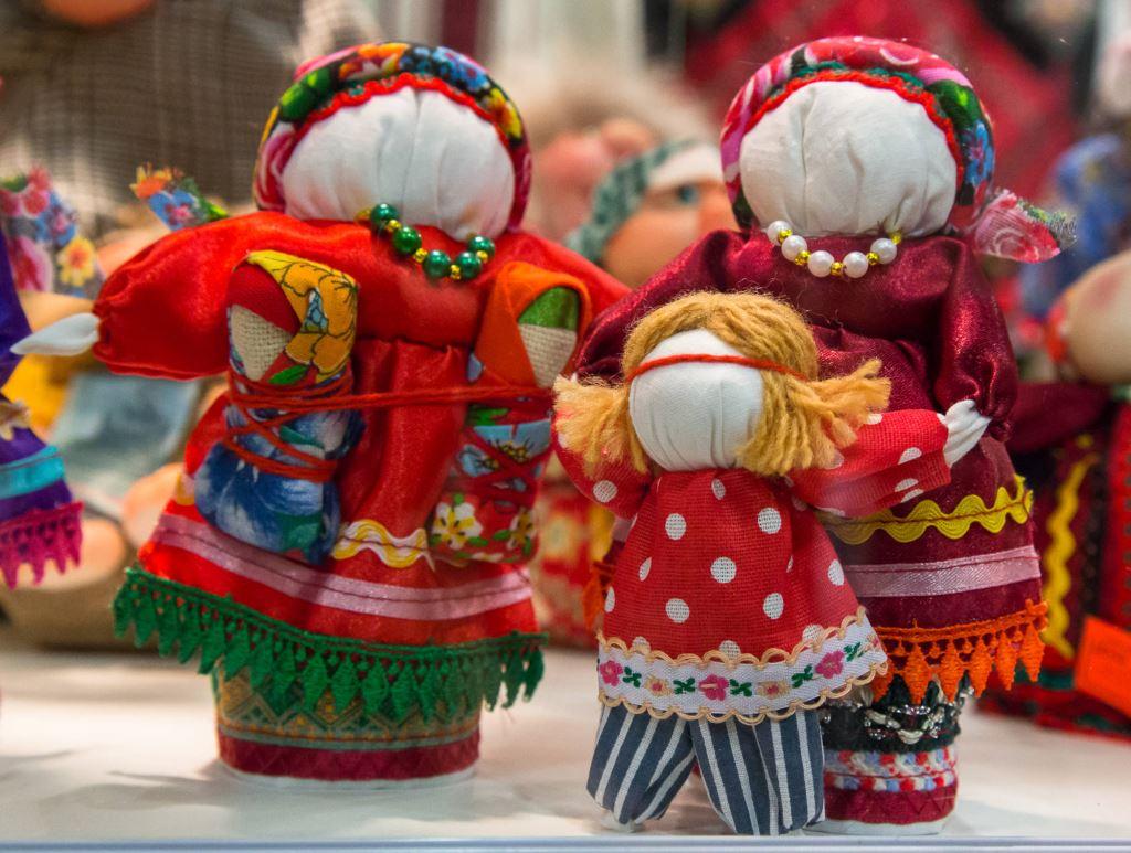 Мордовские куклы