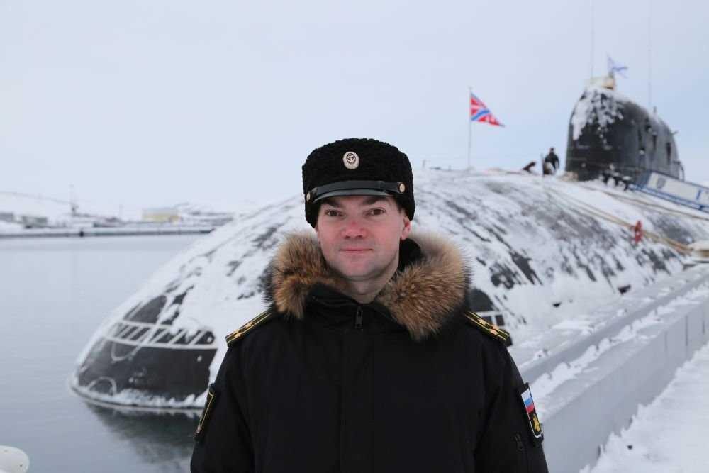 Капитан 1-го ранга Дмитрий Маслов, Северный флот