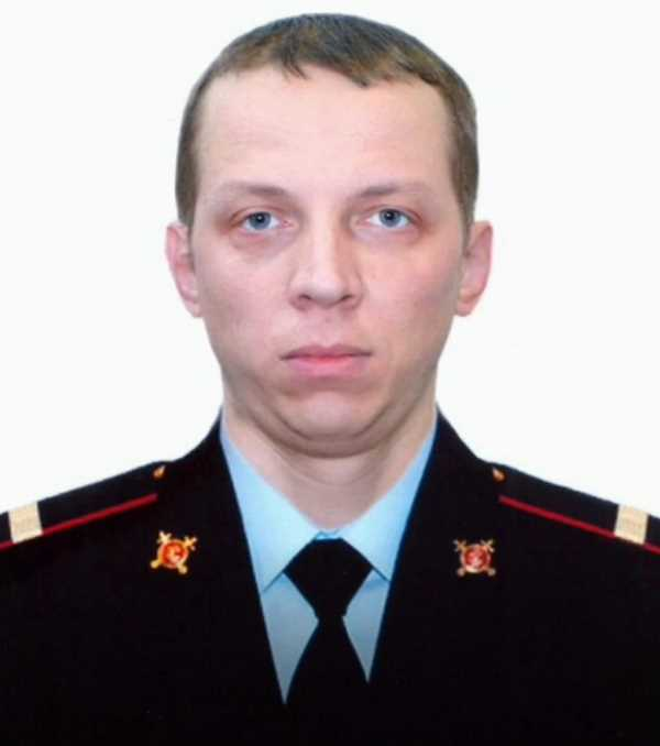 Старший сержант полиции Андрей Хабаров, Санкт-Петербург