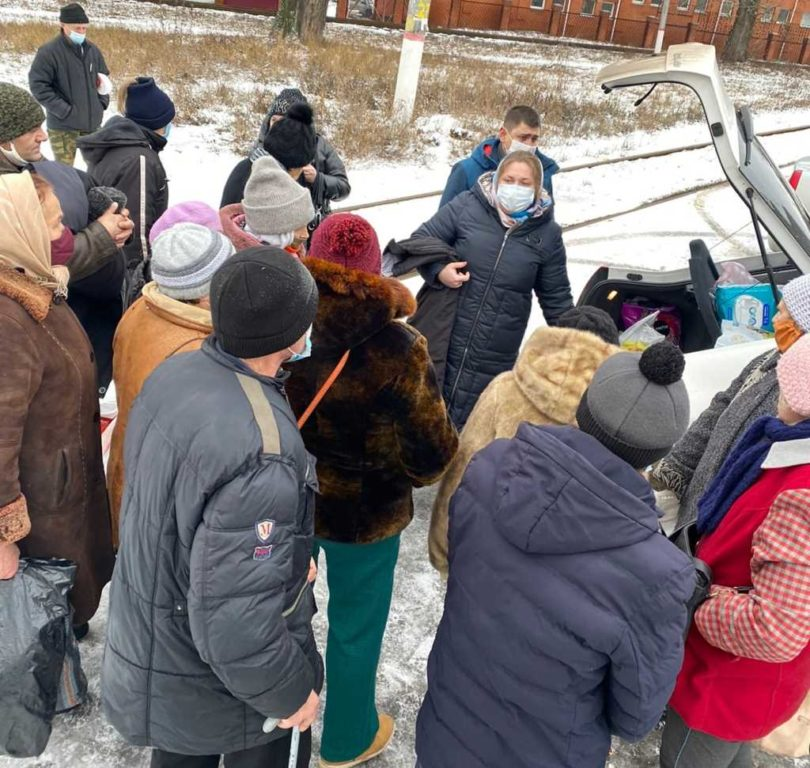 Светлана Козина, организатор Группы помощи бездомным и нуждающимся в Курске